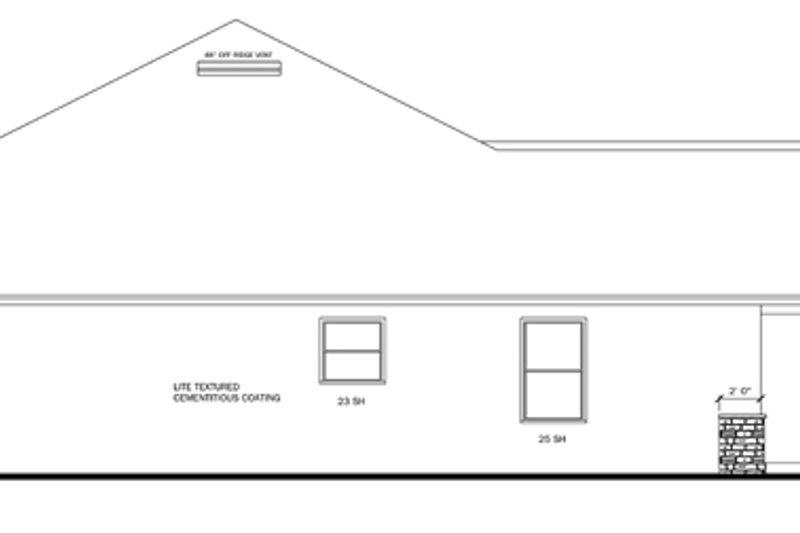 Craftsman Exterior - Other Elevation Plan #1058-51 - Houseplans.com