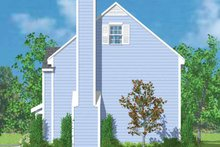 House Plan Design - Colonial Exterior - Other Elevation Plan #72-1088