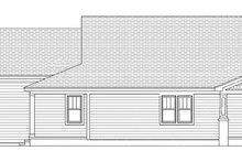 Architectural House Design - Craftsman Exterior - Other Elevation Plan #991-29