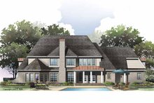 House Plan Design - Country Exterior - Rear Elevation Plan #952-188