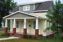 Dream House Plan - Craftsman Exterior - Front Elevation Plan #936-1