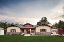Home Plan - Craftsman Exterior - Front Elevation Plan #928-266