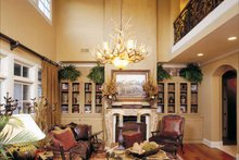Country Interior - Family Room Plan #952-182
