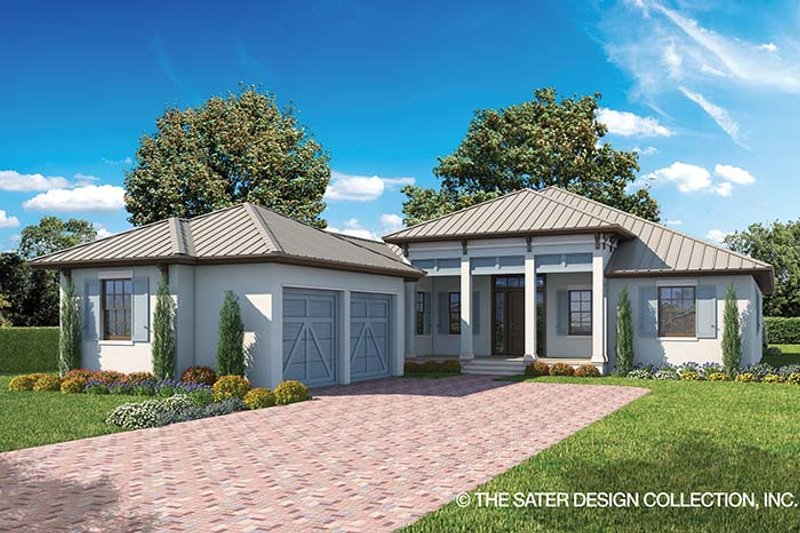 Ranch Exterior - Front Elevation Plan #930-465 - Houseplans.com