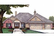 Craftsman Exterior - Front Elevation Plan #310-1228