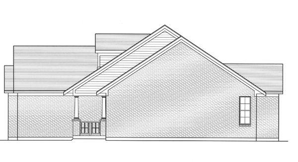 Craftsman Floor Plan - Other Floor Plan Plan #46-836