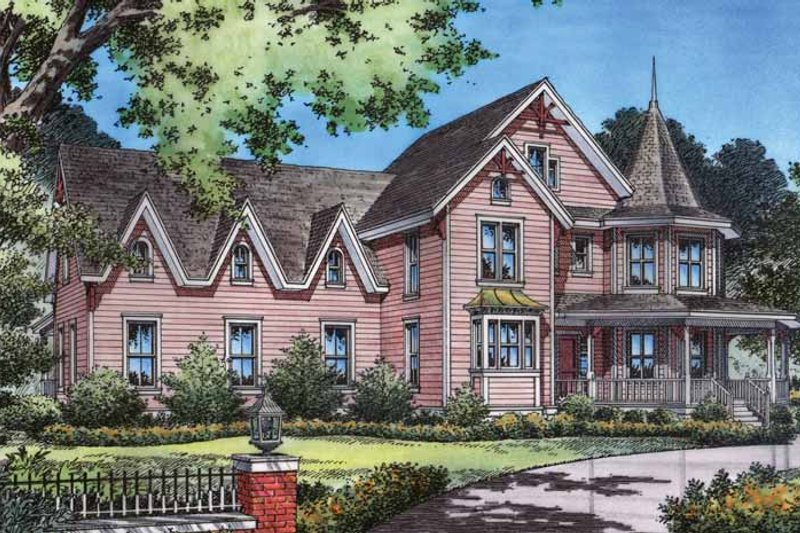 Craftsman Exterior - Front Elevation Plan #417-630 - Houseplans.com