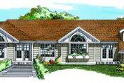 Traditional Style House Plan - 3 Beds 3 Baths 2466 Sq/Ft Plan #47-604 Exterior - Front Elevation
