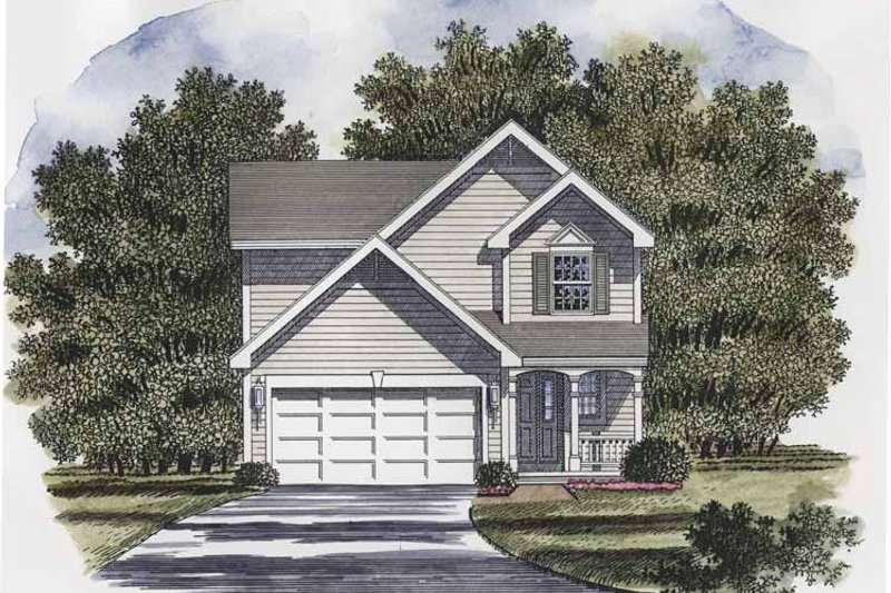 House Plan Design - Victorian Exterior - Front Elevation Plan #316-199