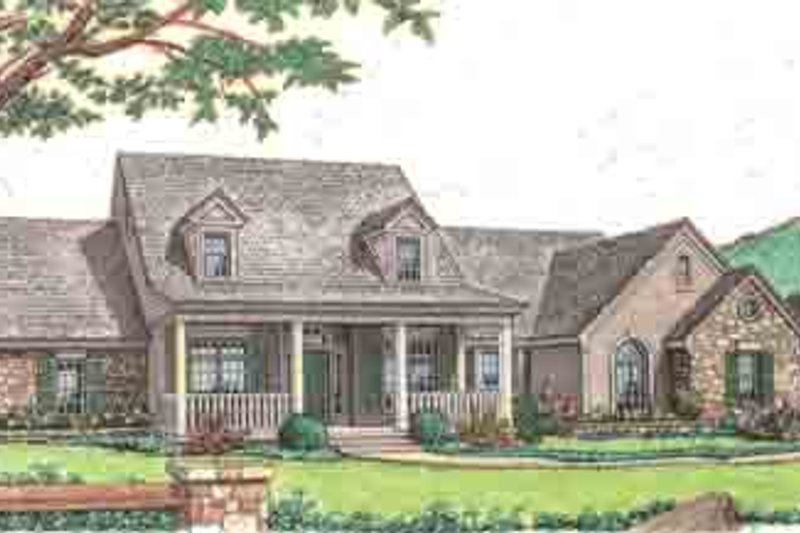 Country Style House Plan - 3 Beds 2.5 Baths 1938 Sq/Ft Plan #310-232