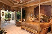 Mediterranean Interior - Master Bedroom Plan #1017-2