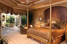Mediterranean Interior - Master Bedroom Plan #1017-2