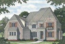Home Plan - European Exterior - Front Elevation Plan #453-561