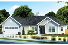 Traditional Exterior - Front Elevation Plan #513-2156