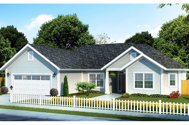 Home Plan - Traditional Exterior - Front Elevation Plan #513-2156