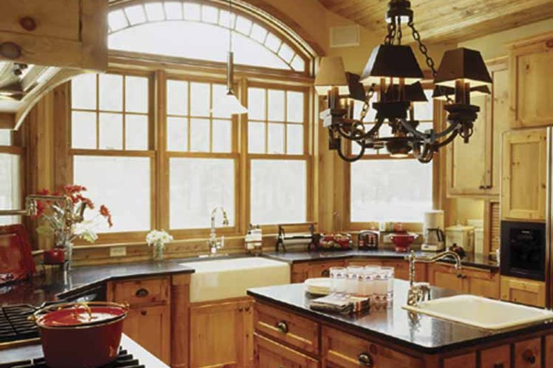 Country Interior - Kitchen Plan #320-993 - Houseplans.com