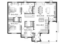 Ranch Floor Plan - Main Floor Plan Plan #23-2565