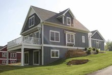 Home Plan - Traditional Exterior - Rear Elevation Plan #928-109