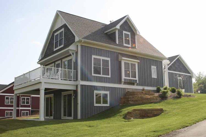 Traditional Exterior - Rear Elevation Plan #928-109 - Houseplans.com