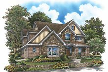 Craftsman Exterior - Front Elevation Plan #929-832