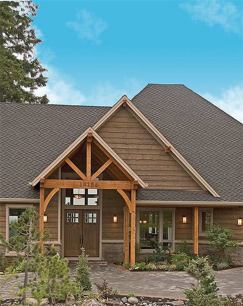Craftsman style house plan 4 beds 3 5 baths 5155 sq ft for Craftsman style homes for sale in nh
