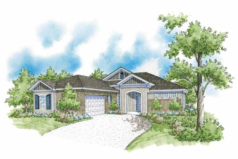 Country Exterior - Front Elevation Plan #930-371 - Houseplans.com