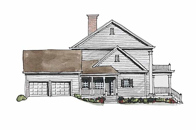 Classical Exterior - Other Elevation Plan #429-186 - Houseplans.com