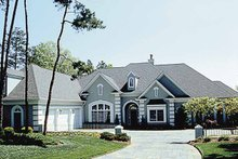 House Design - Traditional Exterior - Front Elevation Plan #453-189