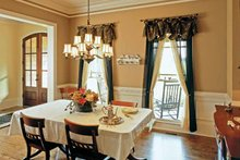 Country Interior - Dining Room Plan #927-295