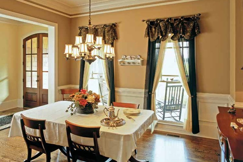 Country Interior - Dining Room Plan #927-295 - Houseplans.com