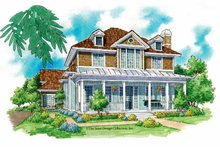 Victorian Exterior - Front Elevation Plan #930-212