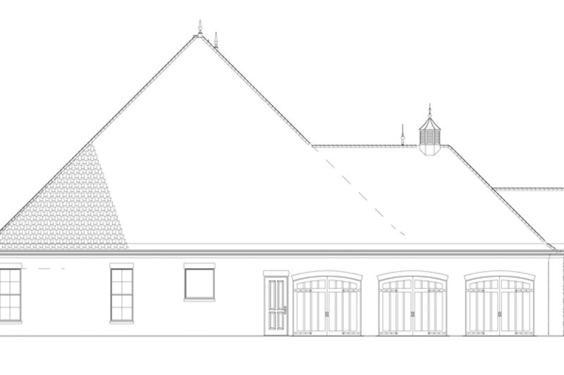 Country Exterior - Other Elevation Plan #17-3340 - Houseplans.com