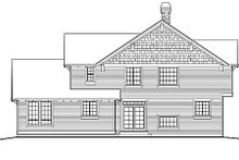 Dream House Plan - Traditional Exterior - Rear Elevation Plan #48-178