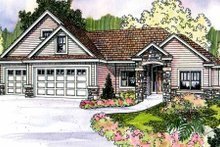 Home Plan - Country Exterior - Front Elevation Plan #124-700
