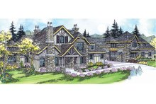 Craftsman Exterior - Front Elevation Plan #124-703