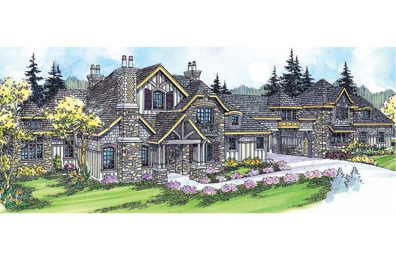 Craftsman Exterior - Front Elevation Plan #124-703