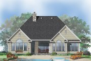 Country Style House Plan - 3 Beds 2 Baths 1904 Sq/Ft Plan #929-669 Exterior - Rear Elevation