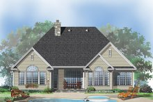 Dream House Plan - Country Exterior - Rear Elevation Plan #929-669