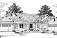 Dream House Plan - Traditional Exterior - Front Elevation Plan #70-744