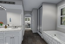 Dream House Plan - Traditional Interior - Master Bathroom Plan #1060-25
