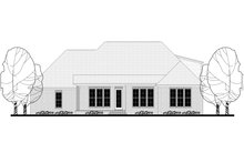 Country Exterior - Rear Elevation Plan #430-151