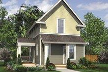Contemporary Exterior - Rear Elevation Plan #48-869