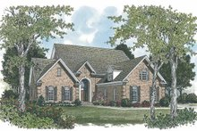 House Plan Design - Traditional Exterior - Front Elevation Plan #453-545