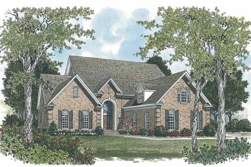 Traditional Exterior - Front Elevation Plan #453-545