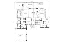 Country Floor Plan - Main Floor Plan Plan #437-120