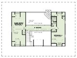 Country Style House Plan - 4 Beds 3 Baths 2829 Sq/Ft Plan #17-3431