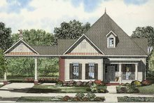 Colonial Exterior - Front Elevation Plan #17-2869