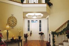 Architectural House Design - Craftsman Interior - Entry Plan #132-351