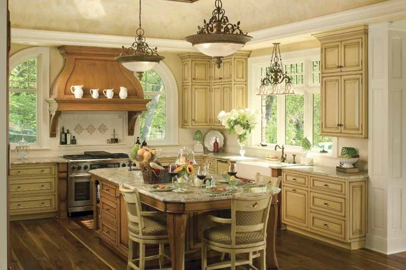 Country Interior - Kitchen Plan #928-183 - Houseplans.com