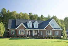 Country Exterior - Front Elevation Plan #929-477